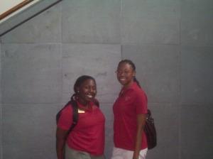 Tavianna Williams and Nneka Enurah