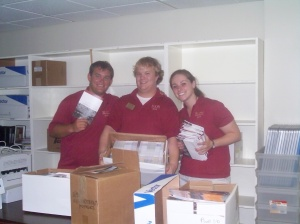 Our lovely guides Josh, Daniel and Elizabeth.  They are so helpful!